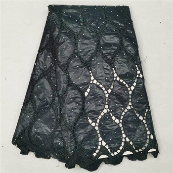 Bazin riche getzner 2020 new design bazin riche fabric tissu african bazin lace with embroidery and stones for wedding H66-902