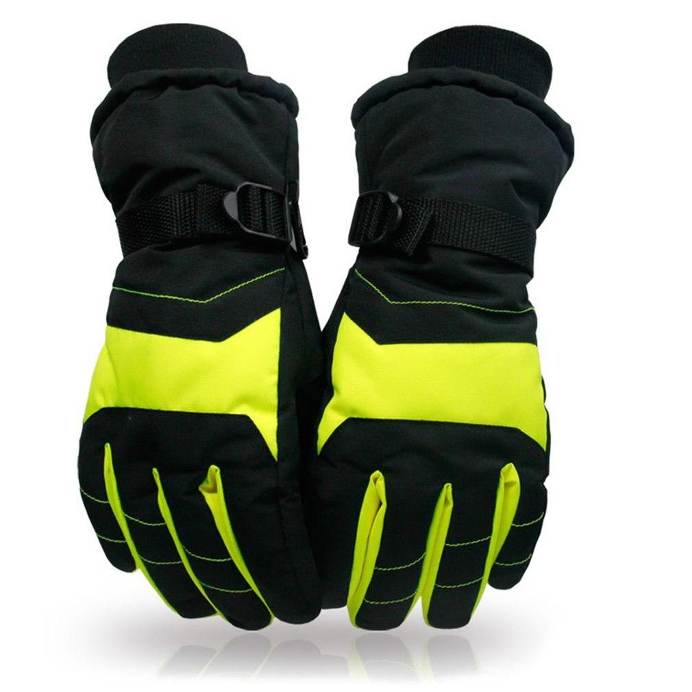 Women Men's Ski Gloves Snowboard Gloves Motorcycle Riding Winter Ski Gloves Windproof Waterproof Unisex Snow Gloves