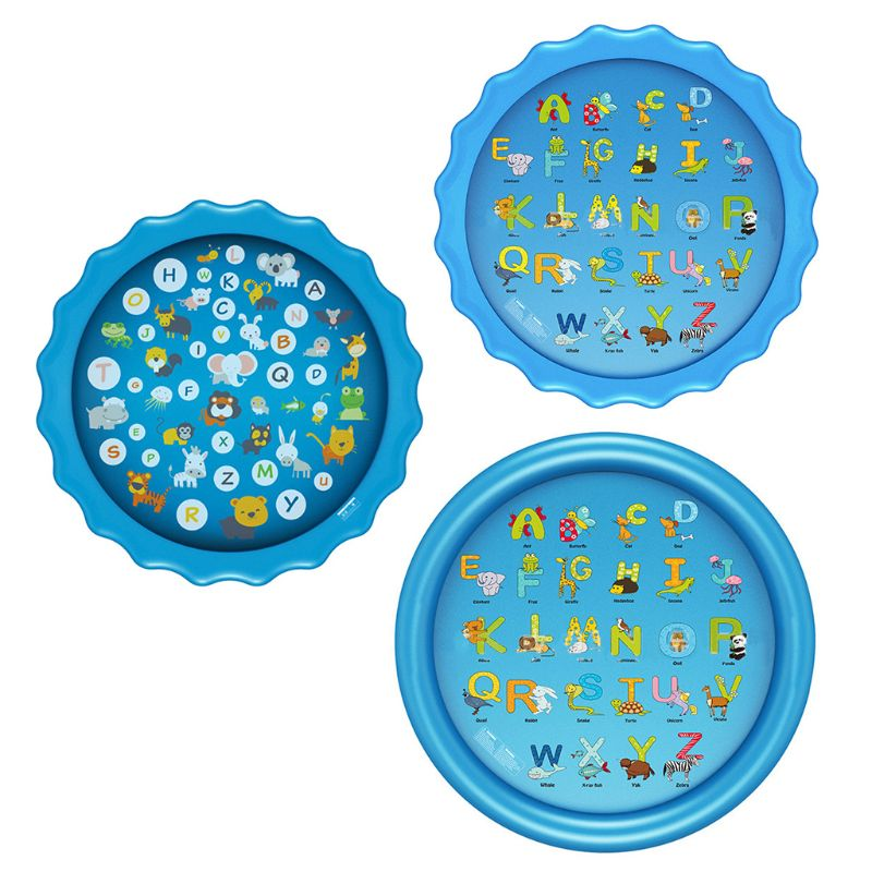 Sprinkler For Kids Sprinkle And Splash Play Mat Outside Toy Water Toys For Kids Outdoor, Outdoor Toys For Toddlers Age