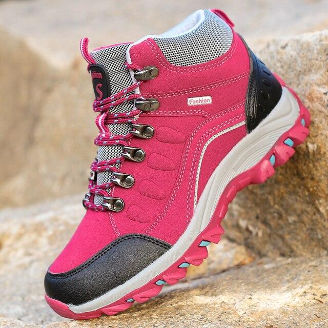 Unisex Breathable Hiking Shoes Men