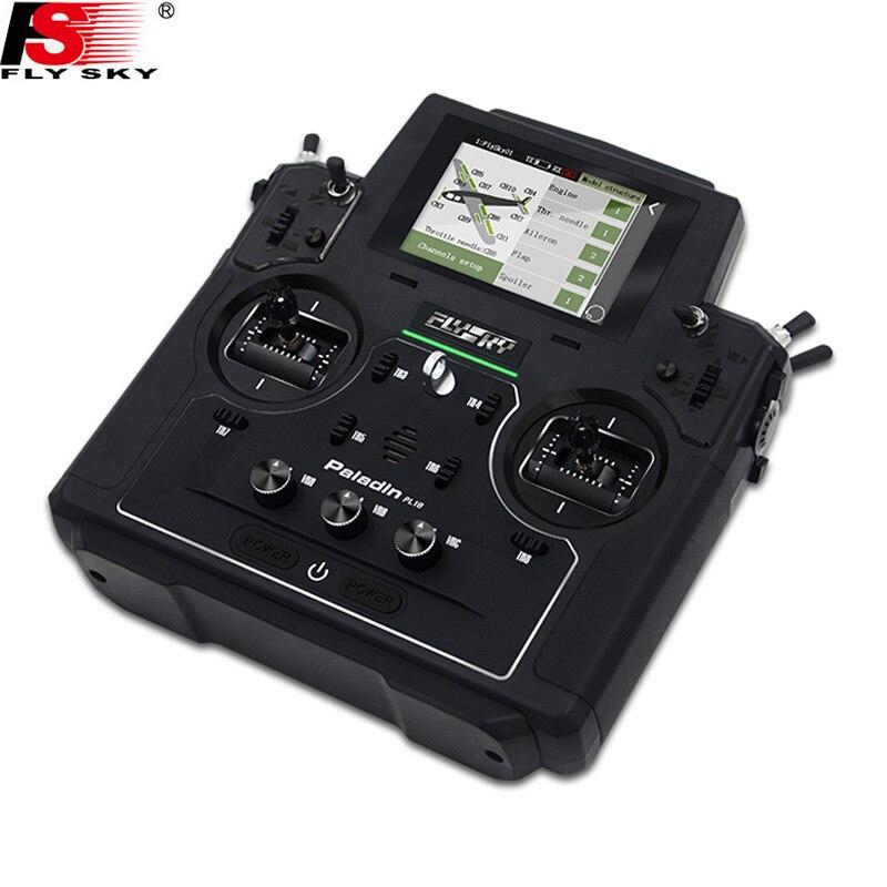Flysky FS-PL18 Paladin 2.4G 18CH Radio Transmitter w/FS-FTr10 Receiver HVGA 3.5 Inch TFT Touch Screen for RC FPVDrone