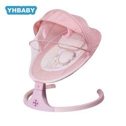 Balançoire bébé multifonctionnel bébé chaise berçante nouveau Smart Bluetooth électrique Shaker électrique chaise berçante