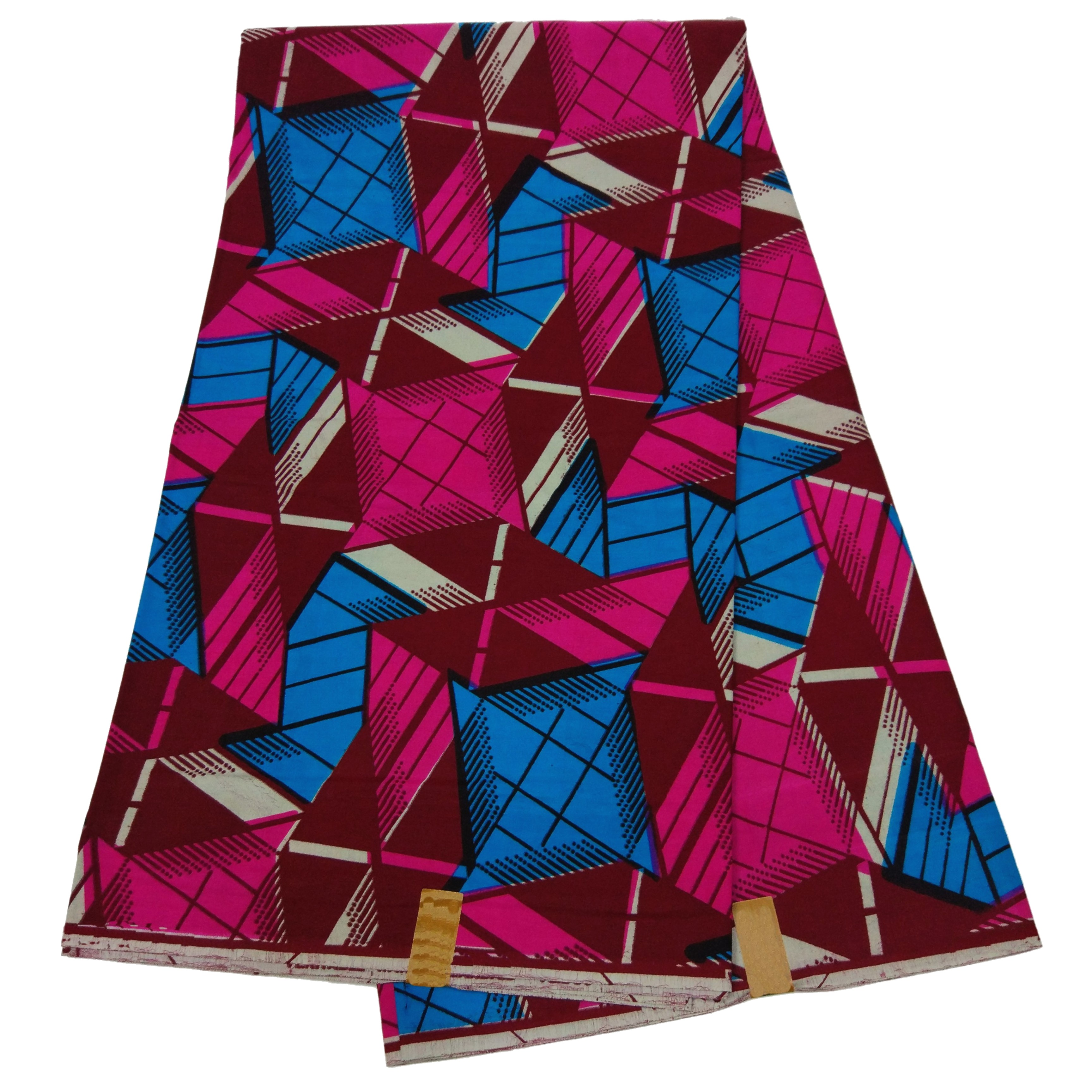 Guaranteed Quality African Fabric 100% Cotton Wax Veritable African Real Dutch Wax Fabric For Dress 6Yards\lot