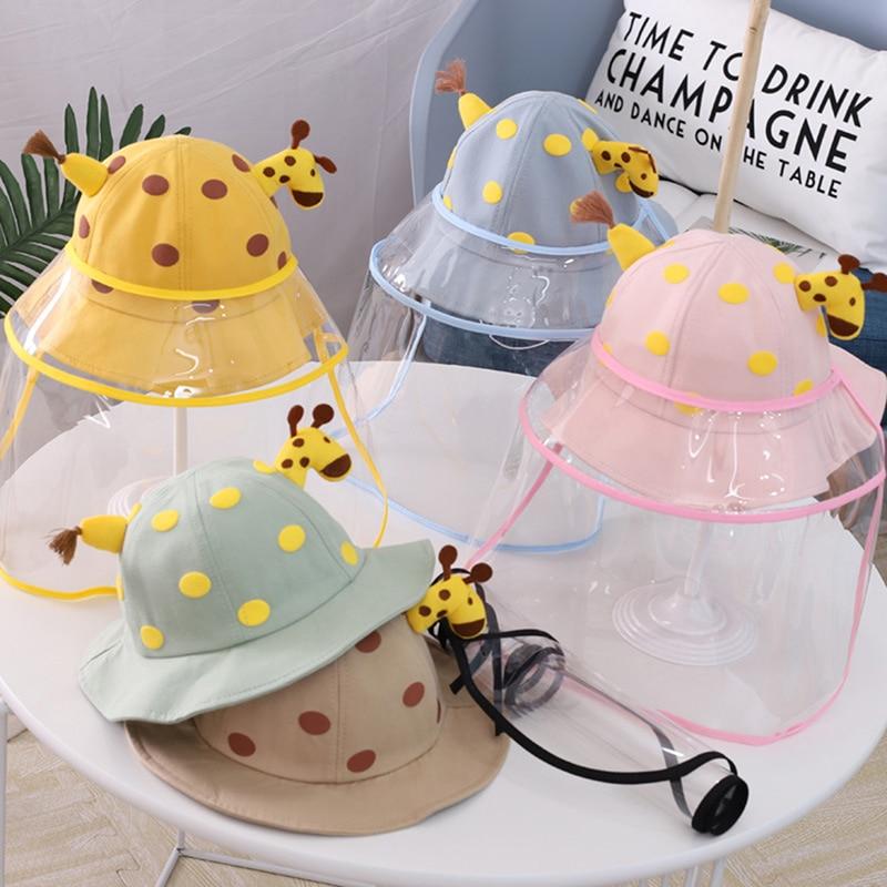 Защитные шапочки с защитой от пятки для детей, для мальчиков и девочек, защита глаз, пыленепроницаемые, для детей, для мальчиков и девочек, в ...
