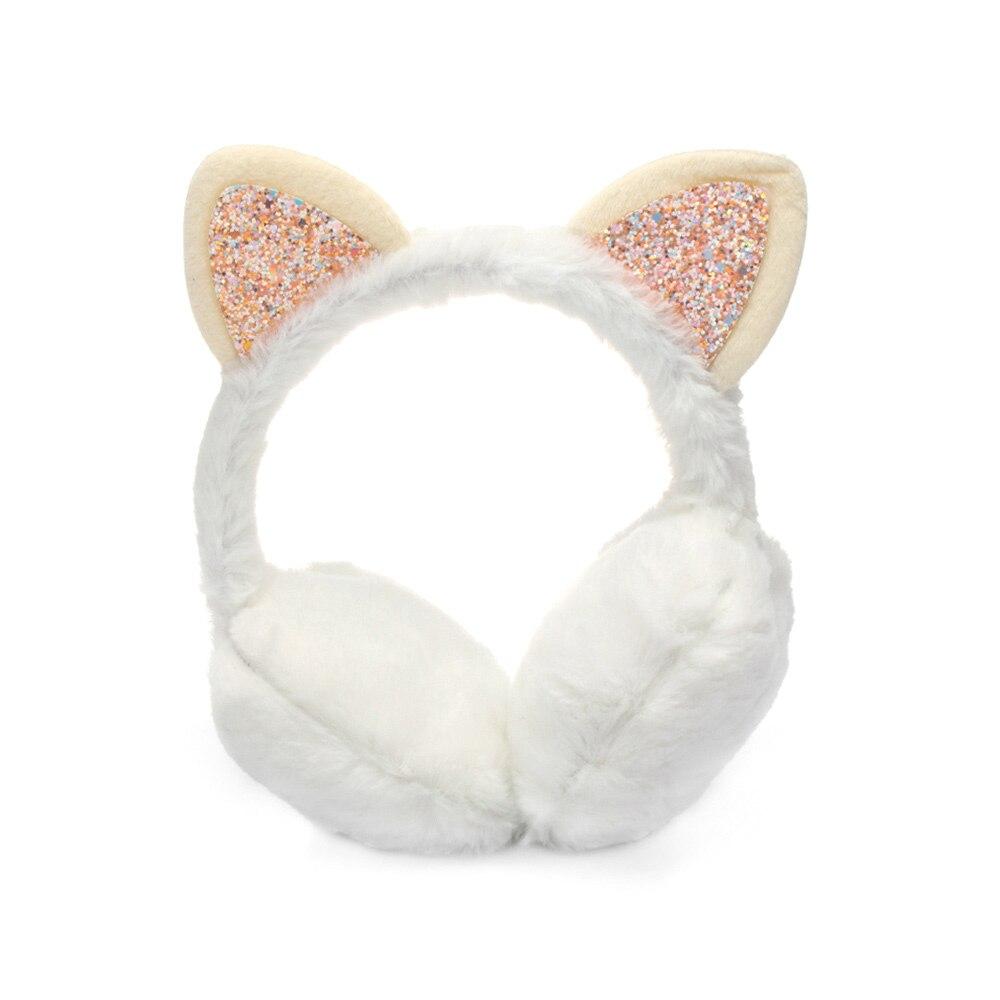 Зимние наушники для ушей, теплые детские милые утепленные плюшевые наушники с единорогом, новинка, высокое качество, покрытие для ушей, теплые аксессуары, детские подарки - Цвет: 7