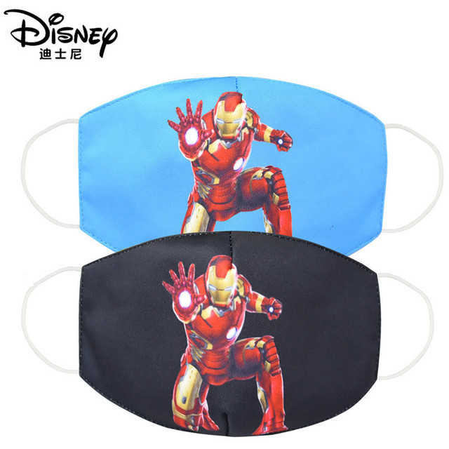 Disney Marvel Spiderman Children's Face Maks Marvel Frozen Cotton Anti-Dust Protective Maks for boys girls toys 1