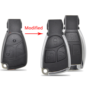 Image 2 - Datong World Car Key Shell Case For Mercedes Benz A C E S Class W203 W211 W204  CLS CLK Modified Replace Smart  Card Cover Part