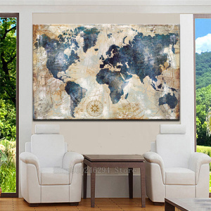 Diamond Embroidery,Wall Decoration Watercolor World Map,5D,diy Diamond Painting Cross Stitch,3d picture,Diamond stickers FF973