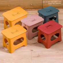 Multifunction Chair Portable Folding Step Stool Durable for Adults Children Home Travel Non Slip Safe Comfortable PP Heavy Duty