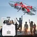 X102H WIFI FPV RC Quadcopter Drone con C4018 720P Cámara aérea 14,0 HD Cámara 2,4 GHz 4CH 6 eje giroscopio FPV con luces LED de noche