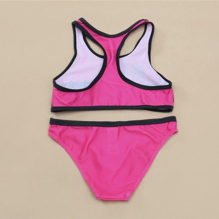 Europe And America New Style GIRL'S Bikini Bathing Suit Big Boy Children Split Type Swimwear