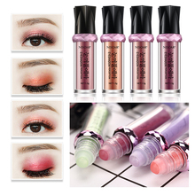 16 Colors Balls Highlighter Waterproof Shimmer Eyeshadow Pen Long Lasting Cosmetic Glitter Eye Shadow Rolling beads Makeup