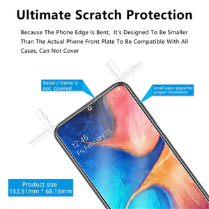 Image 5 - 3PCS Full Cover Tempered Glass For Samsung Galaxy A50 A40 Screen Protector Glass For Samsung A70 M20 M30 A20 A30 A50 A80 A60 A90
