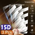 15D 3Pcs Volle Abdeckung Gehärtetem Glas Für Xiaomi Redmi Hinweis 9 8 8T 7 5 6 9S pro Max Screen Protector Für Redmi 8A 7A 9A 10X Glas