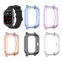 Ouhaobin TPU Frame Bumper Protector Case Cover Protective Shell for Xiaomi Huami Amazfit GTS Smart Watch 1015#2*(China)