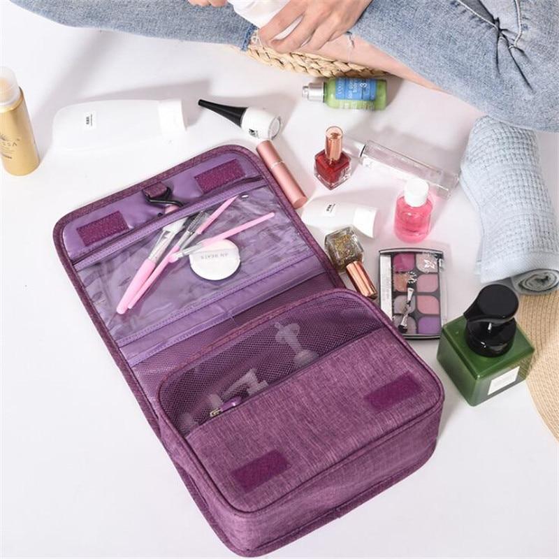 Travel Bag Large Capacity Cosmetic Bag For Men And Women Waterproof Storage Neceser Hanging Bathroom Wash Bag Female Makeup Bags