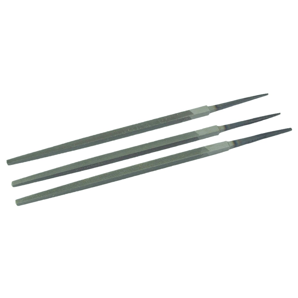 """3pcs Triangle Files 6\\\"""" 150mm For Fine Cutting Tool Premium Useful Durable Tool Parts  - AliExpress"""