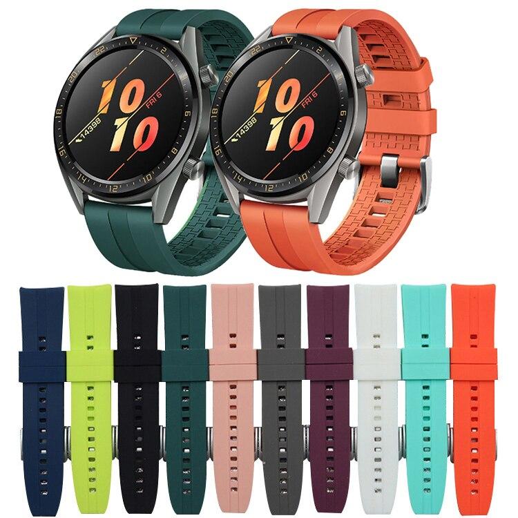 22mm Watch Band For Huawei Watch GT 2 42mm 46mm Strap Samsung Galaxy Watch 46mm Gear S3 Frontier Amazfit Gts Strap Bracelet N09