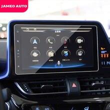 Стайлинг автомобиля, 1 шт., защита экрана из закаленного стекла для GPS-навигации, Защитная пленка для Toyota C-HR CHR 2016 2017 2018 2019