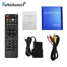 Full HD 1080P medya oynatıcı HDD multimedya Video oynatıcı ile HDMI VGA AV USB SD/MMC Mpeg2 HD TV kutusu desteği Mkv H.264