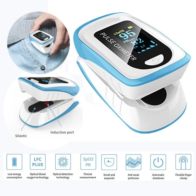 NEW Finger Monitor SpO2 Oximeter Fingertip Pulsoximeter Pulse Oximeter Blood  Pressure Pulse Heart