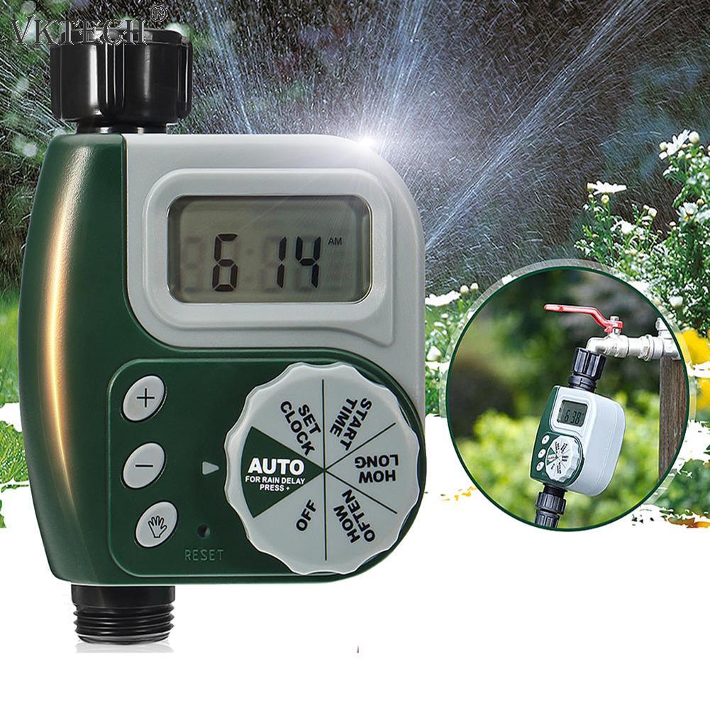 Kunststoff Programmierbare Automatische Garten Bewässerung Timer Bewässerung Controller Home Garten Bewässerung Timer Bewässerung System