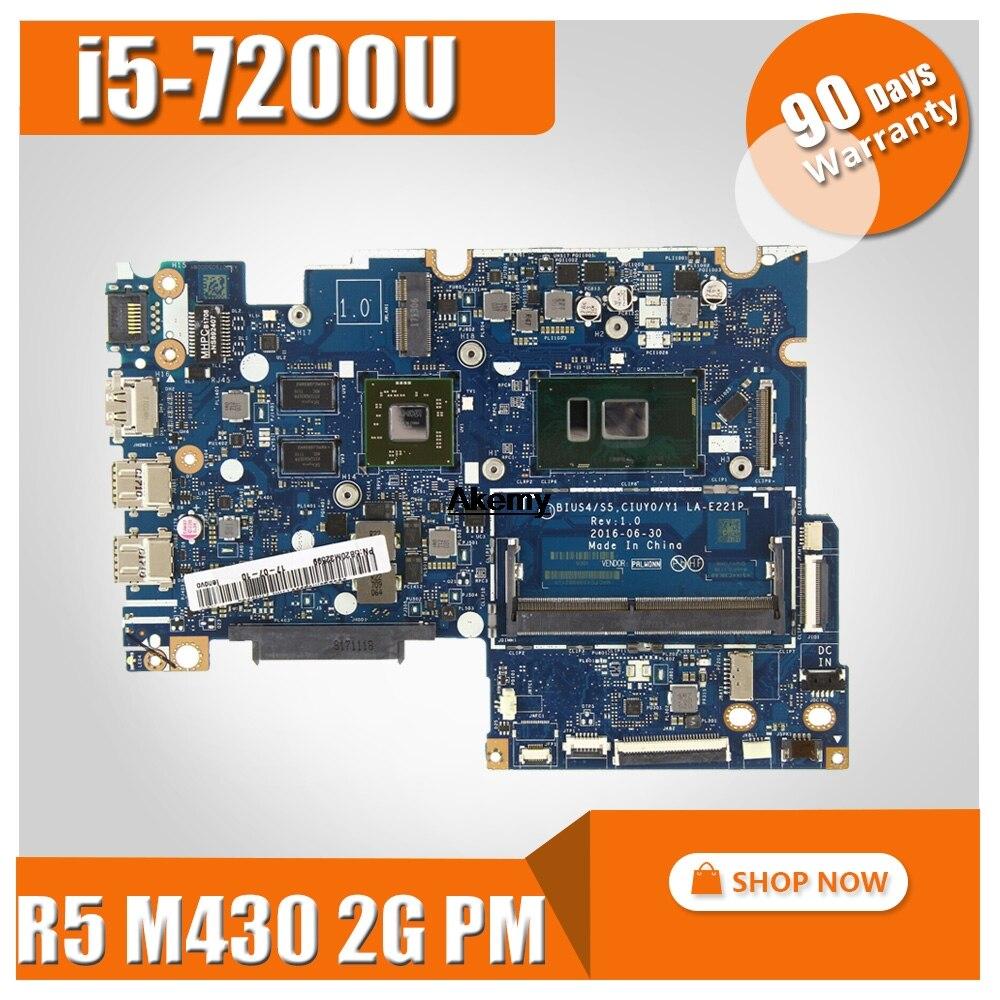 For Lenovo Yoga510-14ikb Flex-4-1480 Notebook PC Motherboard I5-7200U R5 M430 2G Solo Display La-e221p 100% Test OK