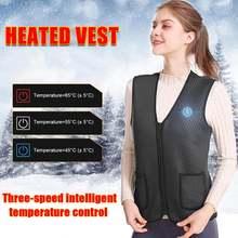 Уличная куртка с подогревом теплый жилет одежда для пеших прогулок