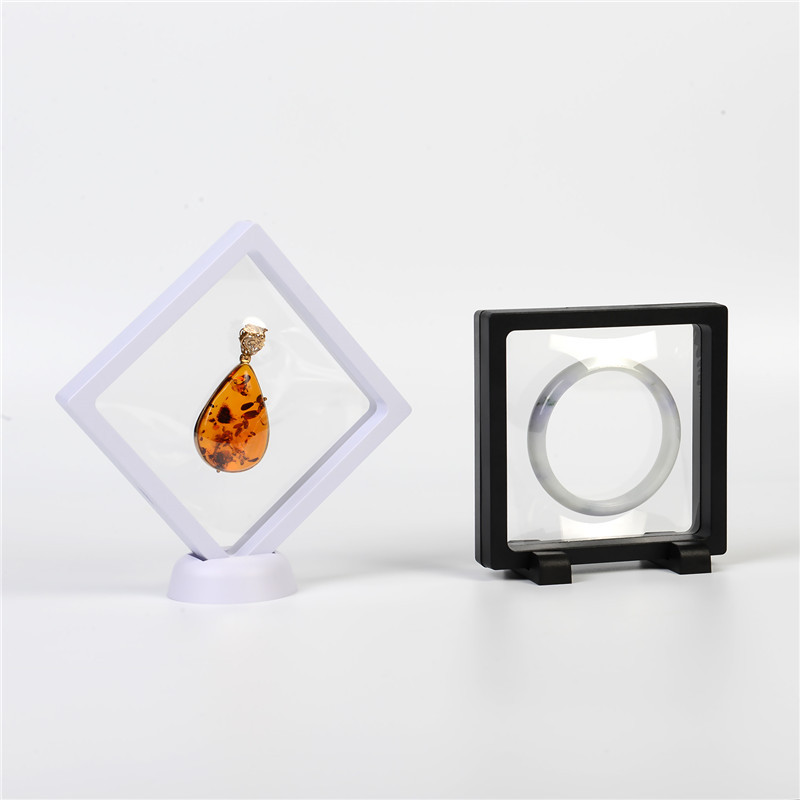 Jewelry Display Showing Retail Box 11*11cm For Making Up The Balance Of The Transparent Suspended Floating Holder