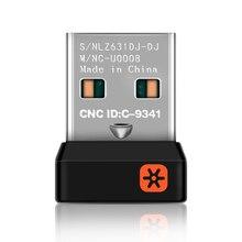 Kablosuz Dongle alıcı birleştirici USB adaptörü Logitech fare klavye bağlayın 6 cihazı MX M905 M950 M505 M510 M525 vb
