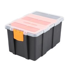 Suitcase-Case-Holder Tool-Parts Box Storage-Box Electrician-Tool Plastic Portable F-156D