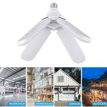 Living room Bedroom High-quality Adjustable Ceiling Lamp LED Folding Fan Light Bulb Energy-saving Super Bright Lighting(China)