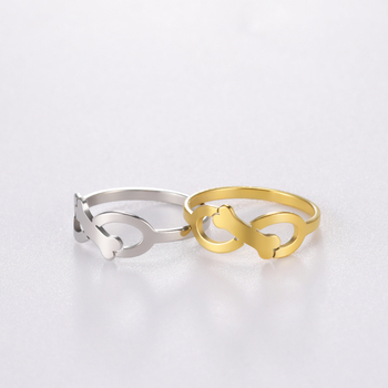 Dog Rings Gold Color  3