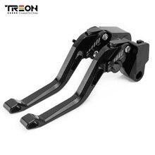 TREON Hohe Qualität Motorrad Bremse Kupplung Hebel Für Yamaha FZ1 FAZER/GT FZ6 FAZER/S2 FZ6R FZ8 XJ6 DIVERSION ABS FZ6 Fazer/S2
