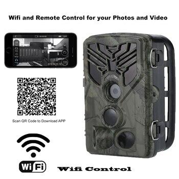 Live Show Wild Trail Camera  Wifi APP Bluetooth Control Hunting Cameras Wifi830 20MP 1080P Night Vision Wildlife  Photo Traps 3