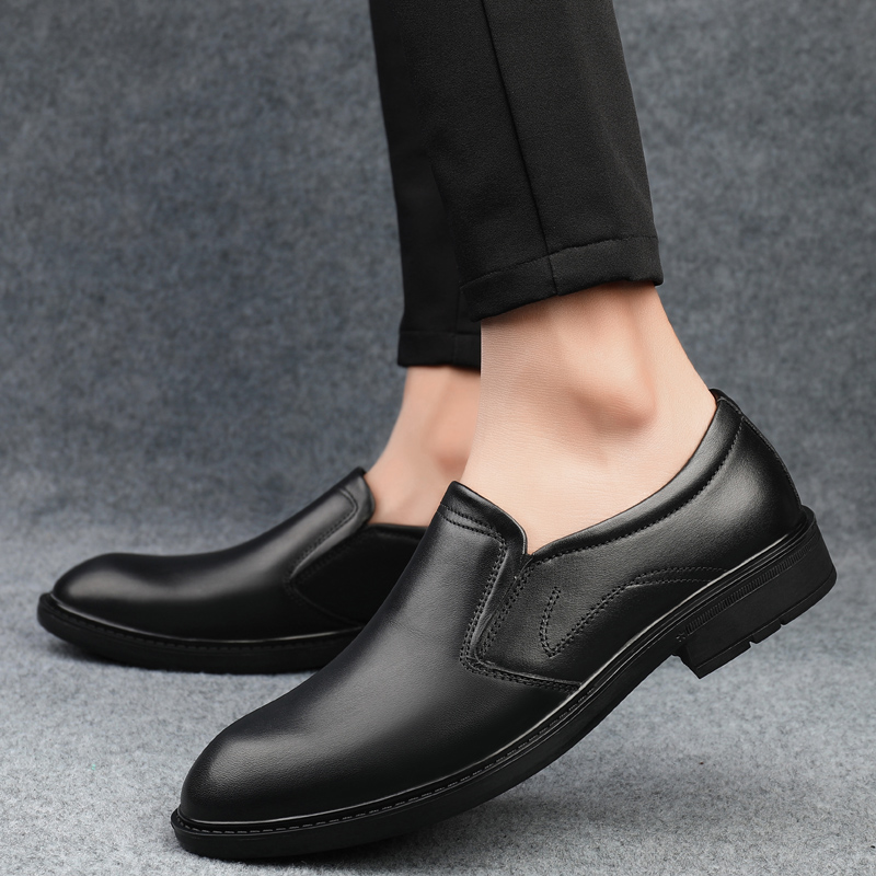 Italian Men Shoes genuine leather Casual Brand Slip On outdoor Formal Luxury Shoes Men Loafers Moccasins black Driving Shoes o4