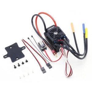 Image 2 - Hobbywing CONTROLADOR DE VELOCIDAD Hobbywing EZRUN, impermeable, WP SC8 120A, sin escobillas, enchufe ESC T
