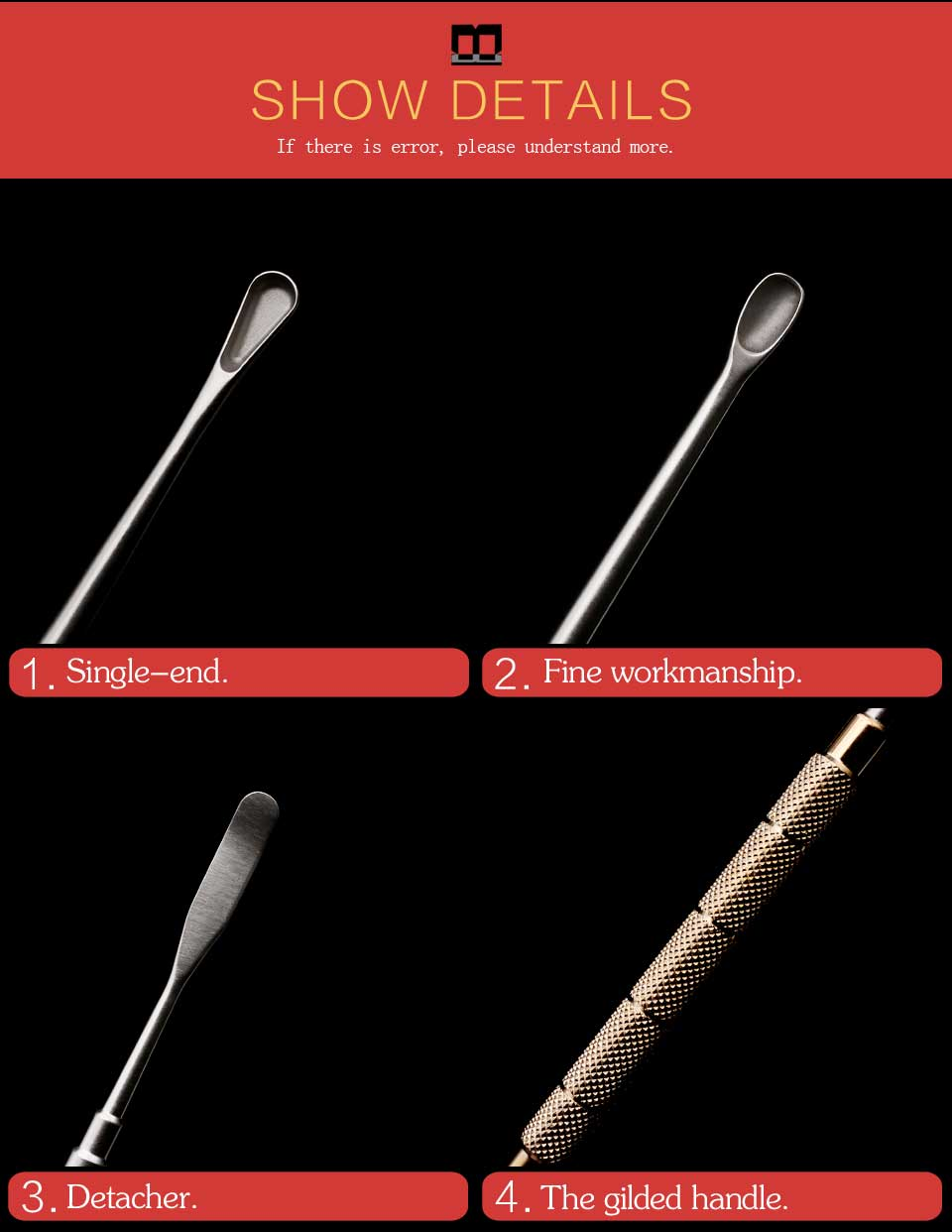 Instrumentos p/ pálpebra