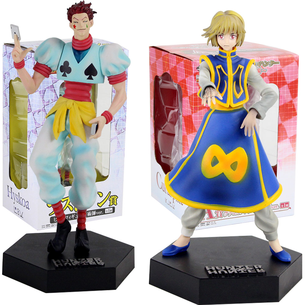 21-24cm Hunter X Hunter Kurapika Hisoka PVC Action Figure Toys Hunter X Hunter Figure Dolls