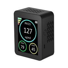 Air Quality Detector TFT Color Screen PM2.5 PM1.0 PM10 Haze Particle Detectors Instrument Home Air Quality Monitor The Office