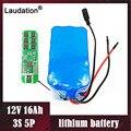 Laudation 12V 16ah/16000mAh защита батареи 12V 3S 5P BMS 18650 литиевая аккумуляторная батарея Емкость 100% новая высокая емкость