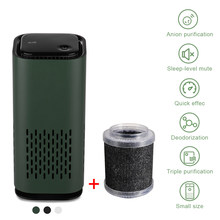 Neue Entwickeln Auto Air Purifier Reiniger Negative Ionen USB Mini Hause Fahrzeug Luft Reiniger Entfernen Formaldehyd Luftreiniger Großhandel
