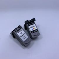 YOTAT Remanufactured PG 37 ink cartridge PG37 CL38 for Canon PIXMA IP2600 IP1900 IP1800 IP2500 MX300 MX310 mini260 MP140