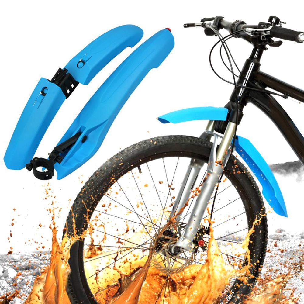 Bike Fender Bicycle Taillight fender Cycling Mountain Bike Mud Guards Mtb Mudguard 3 Colors Wings For Bicycle Bike Accessories|fenders| |  - title=
