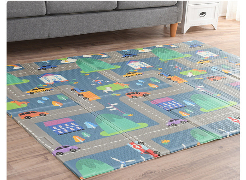 H0669098616394044ad4491d016a6d895R Miamumi Portable Baby Play Mat XPE Foam Double Sided Playmat Home Game Puzzle Blanket Folding Mat for Infants Kids' Carpet Rug