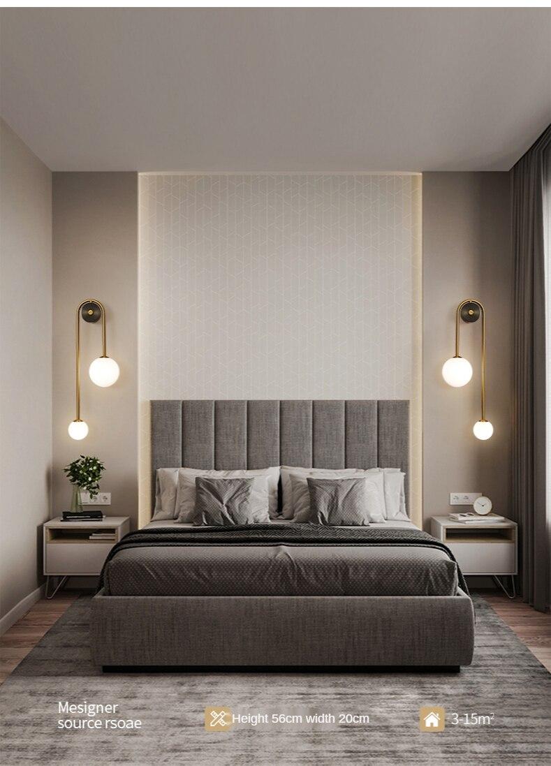 Luminária de parede moderna, g9, iluminação de
