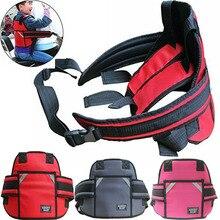 Детский ремень безопасности для мотоцикла, ремень с пряжкой, светоотражающая защита, повседневные регулируемые ремни для мотоцикла