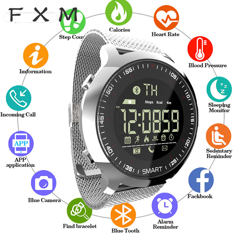 Mens' Watch Hot Sale Sports Clock Bluetooth Waterproof Men Smart Clock Digital Ultra -Long Standby Support Call And SMS Memory