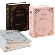 6 дюймовый фотоальбом с 100 карманами рамка для хранения фотографий