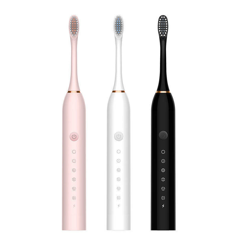 Sonic Electric Toothbrush Adult Child Automatic Tooth Brush Waterproof USB Rechargeable 6 Mode Dental Smart Whitening Best Gift